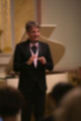 Alberto Nones, concert in Saint Petersbu