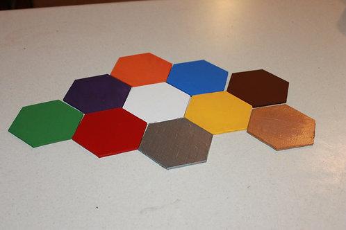 Honeycomb Sorting Discs - Colors