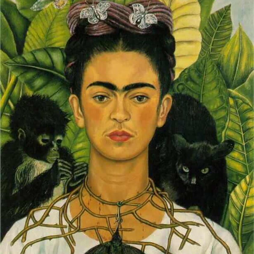 Frida Kahlo Self Portrait Virtual Workshop