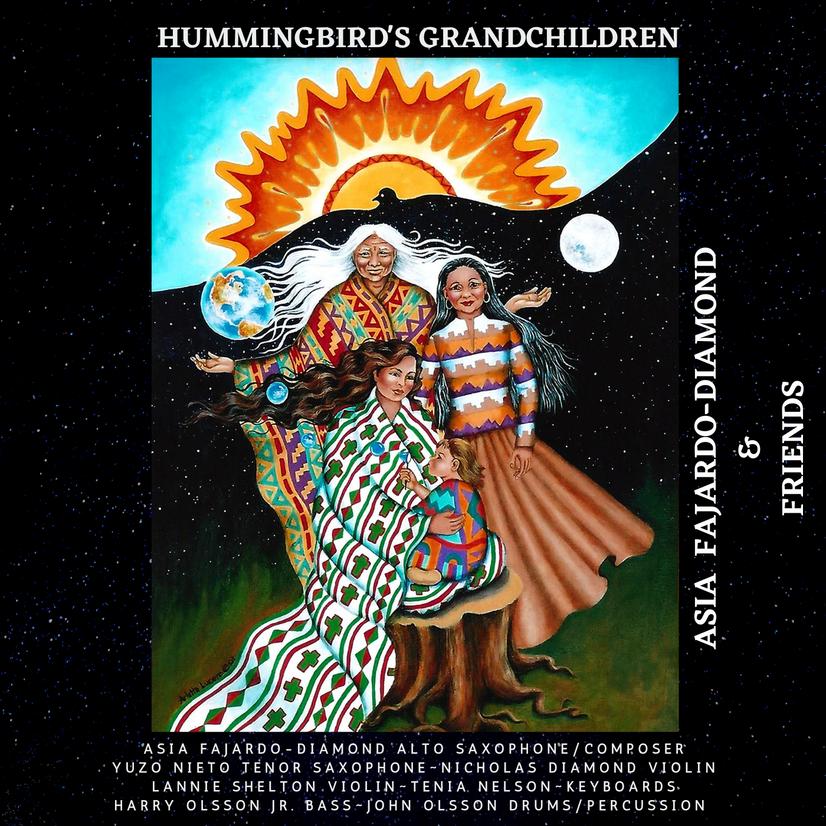 Asia Fajardo Diamond's Album release