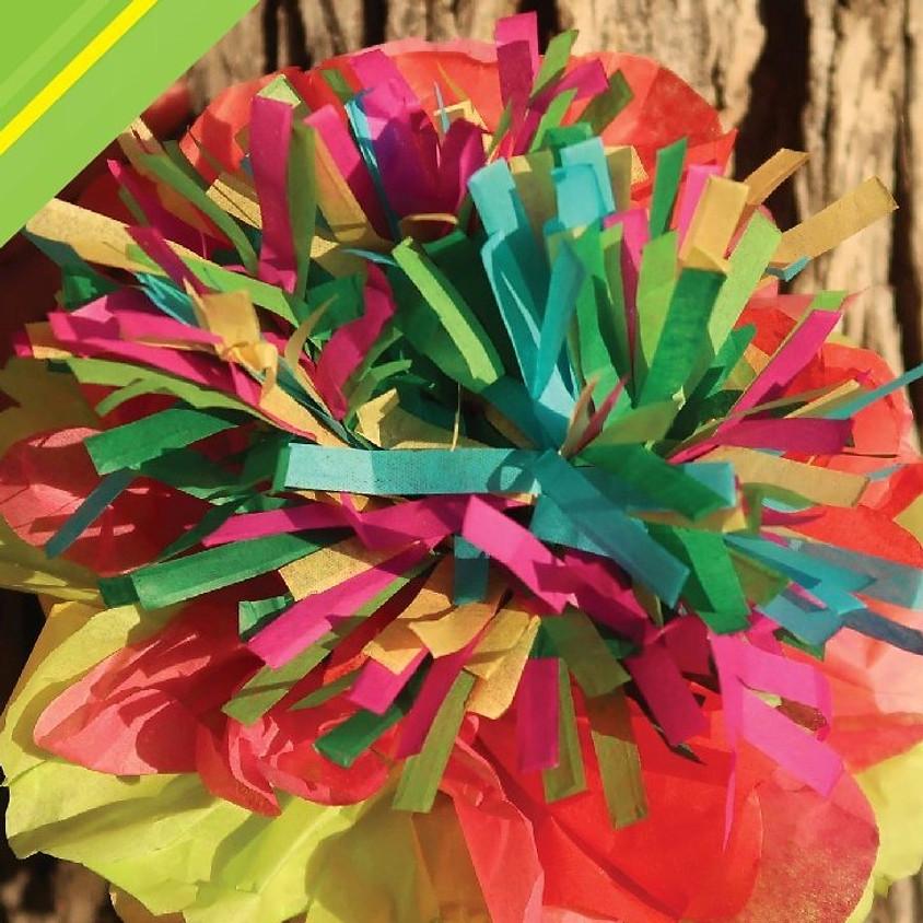 Flores de Papel (Paper Flowers)  at Oz Gallery