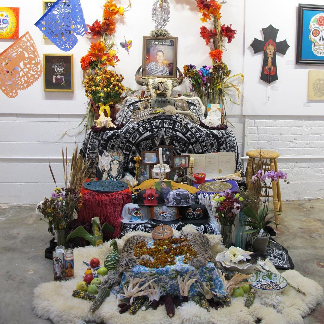 CHAC Alter for Dia de los Muertos