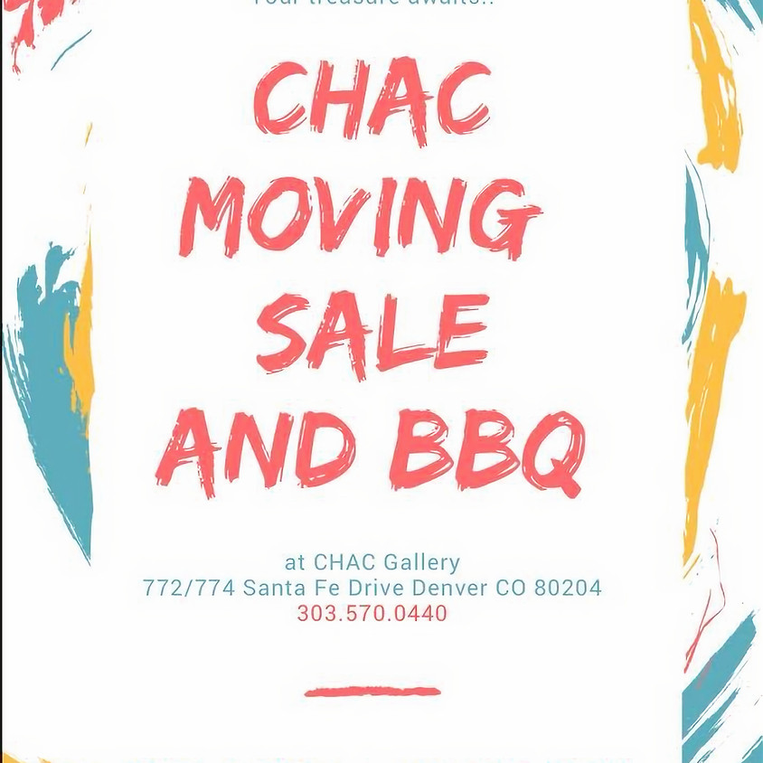 Moving sale and BBQ