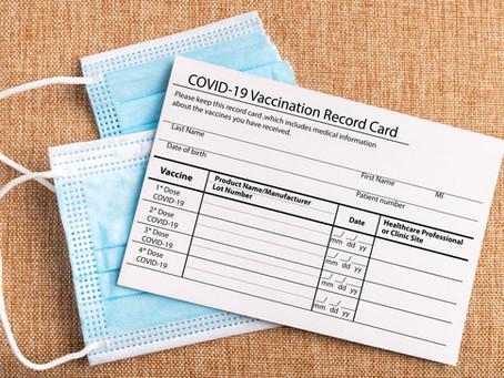 COVID-19 Vaccine Card Care