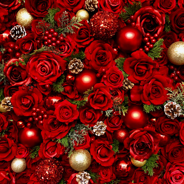 Happy Holidays Wall Flower