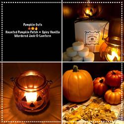 Pumpkin Guts Tealights