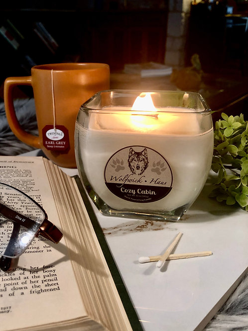 Signature Candle (Clear Taper)