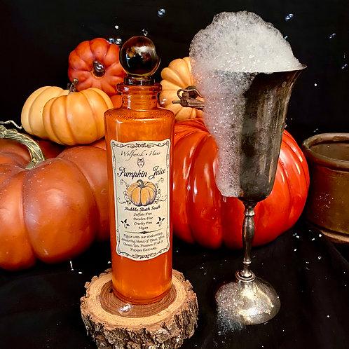 Pumpkin Juice Bubble Soak