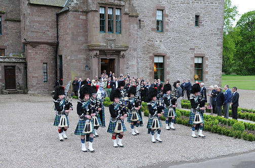 MacKenzie Caledonian Pipe Band - Performing at an event
