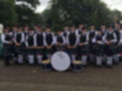 MacKenzie Caledonian Pipe Band - Novice Juvenile at World Championships in 2016