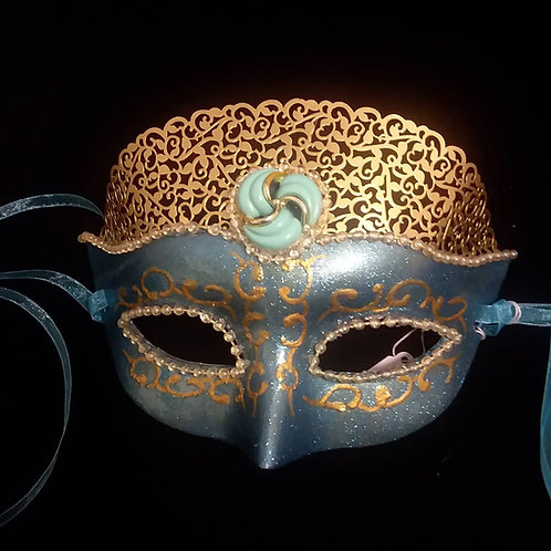 Blue Princess Mask
