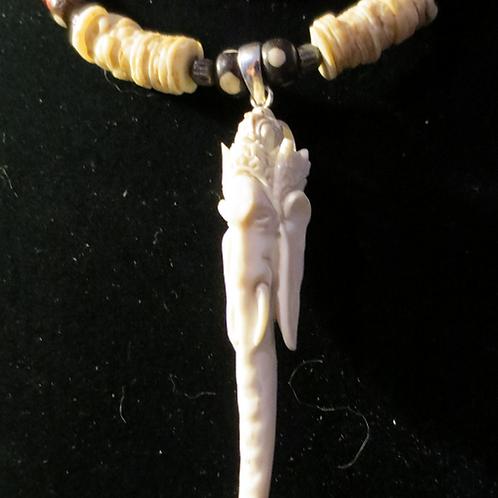 Ganesh in Bone