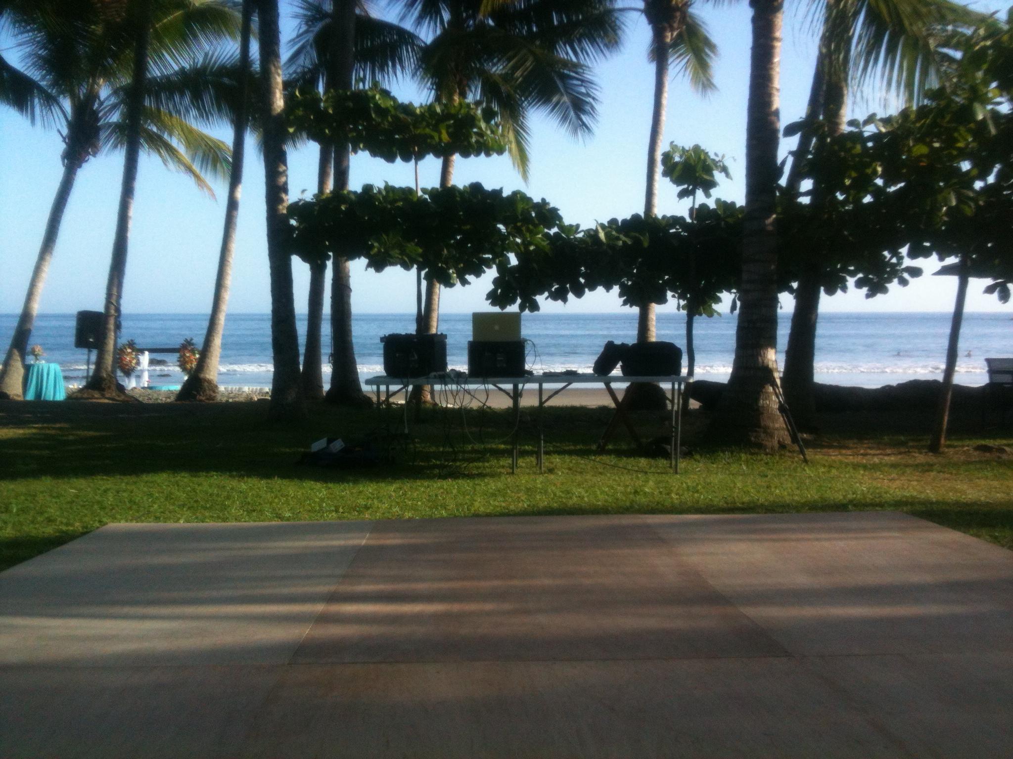 Punta Islita DJ booth