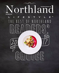 Cover of Northland Lifestyle's October 2017 edition featuring readers' choice awards