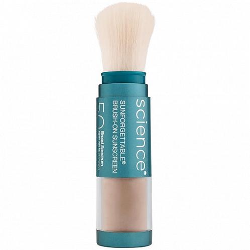 Colorescience Sunforgettable® Matte Brush-on Sunscreen SPF 50 in Tan