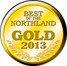 Gold Seal saying 2013 Winner for Best of the Northland