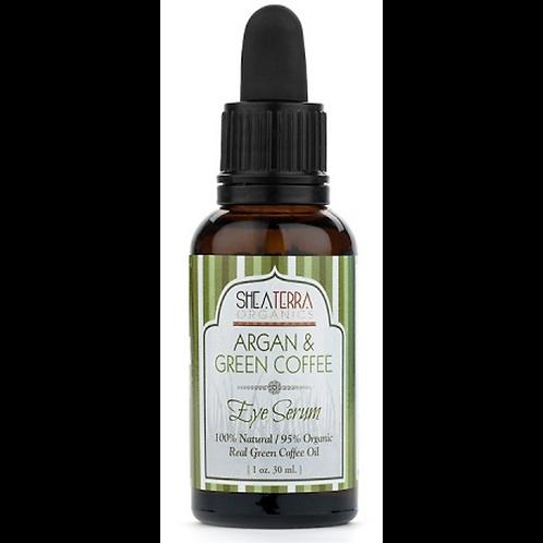 Shea Terra Argan & Green Coffee Around-Eye Serum, 1oz
