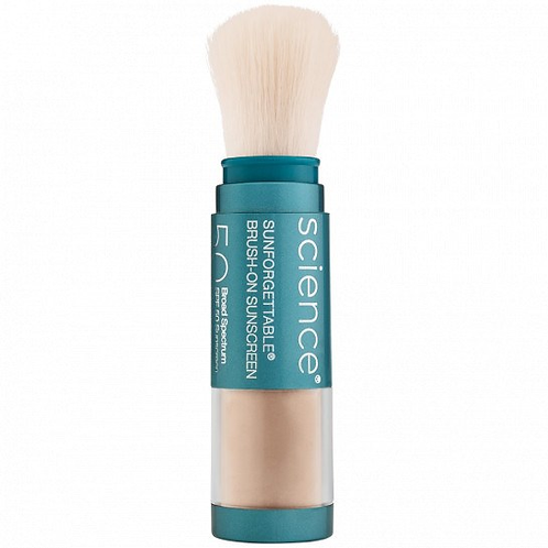 Colorescience Sunforgettable® Matte Brush-on Sunscreen SPF 50 in Medium
