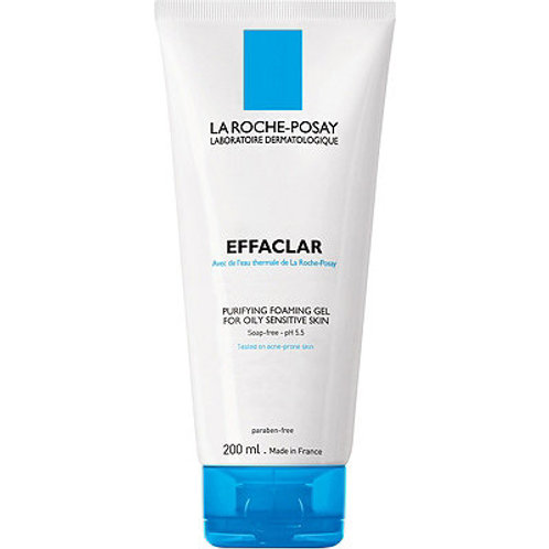 La Roche Posay Effaclar Gel, Purifying Foaming Gel Cleanser, 6.76oz