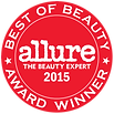 Seal for Allure's 2015 Best of Beauty Award Winner