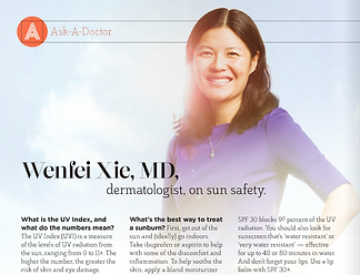 Catalog page from MyHealthKC with an image of Dr. Wenfei Xie