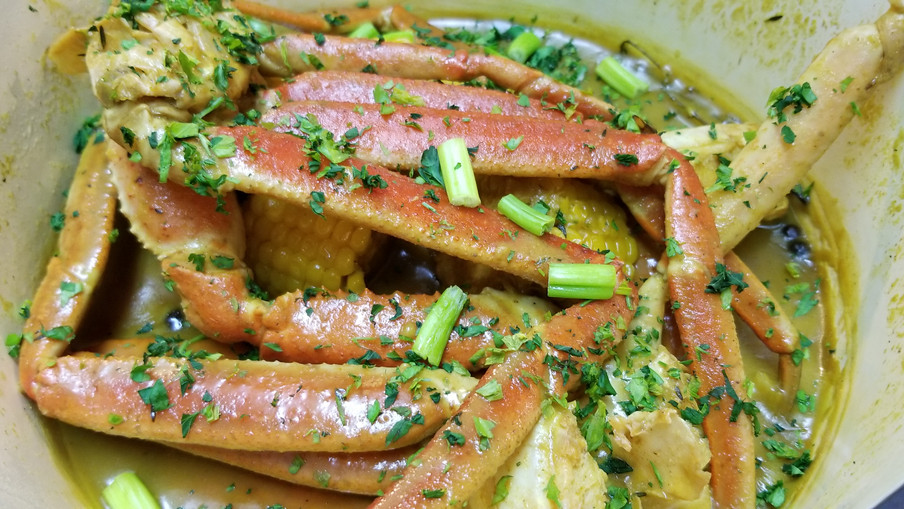 Curry Crablegs