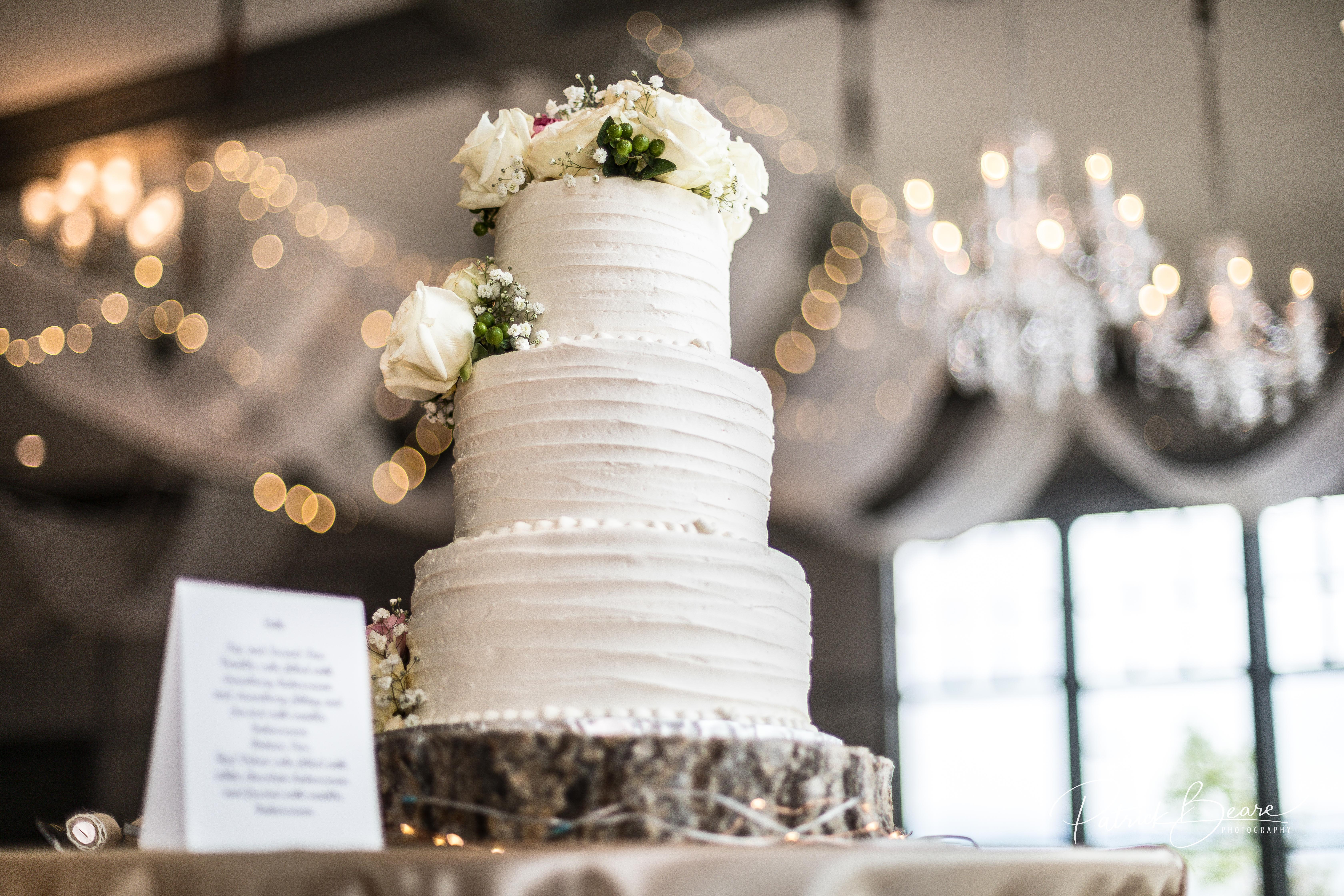 Albuquerque Noah's Event Center Wedding Cake