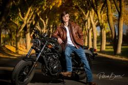 Albuquerque Senior Photographer Motorcycle