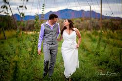 Santa Fe Rustic Country Wedding Hops