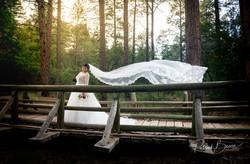 Sandia Mountains Doc Long Sunset Wedding