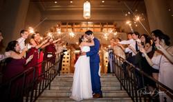 Hotel Eldorado Sparkler Send Off Santa Fe Wedding