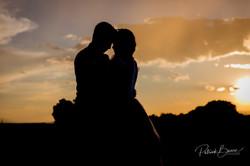 Albuquerque Santa Fe Sunset Wedding