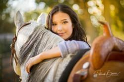 Albuquerque Senior Photographer Horse Horses