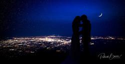 Sandia Mountains Sunset Wedding