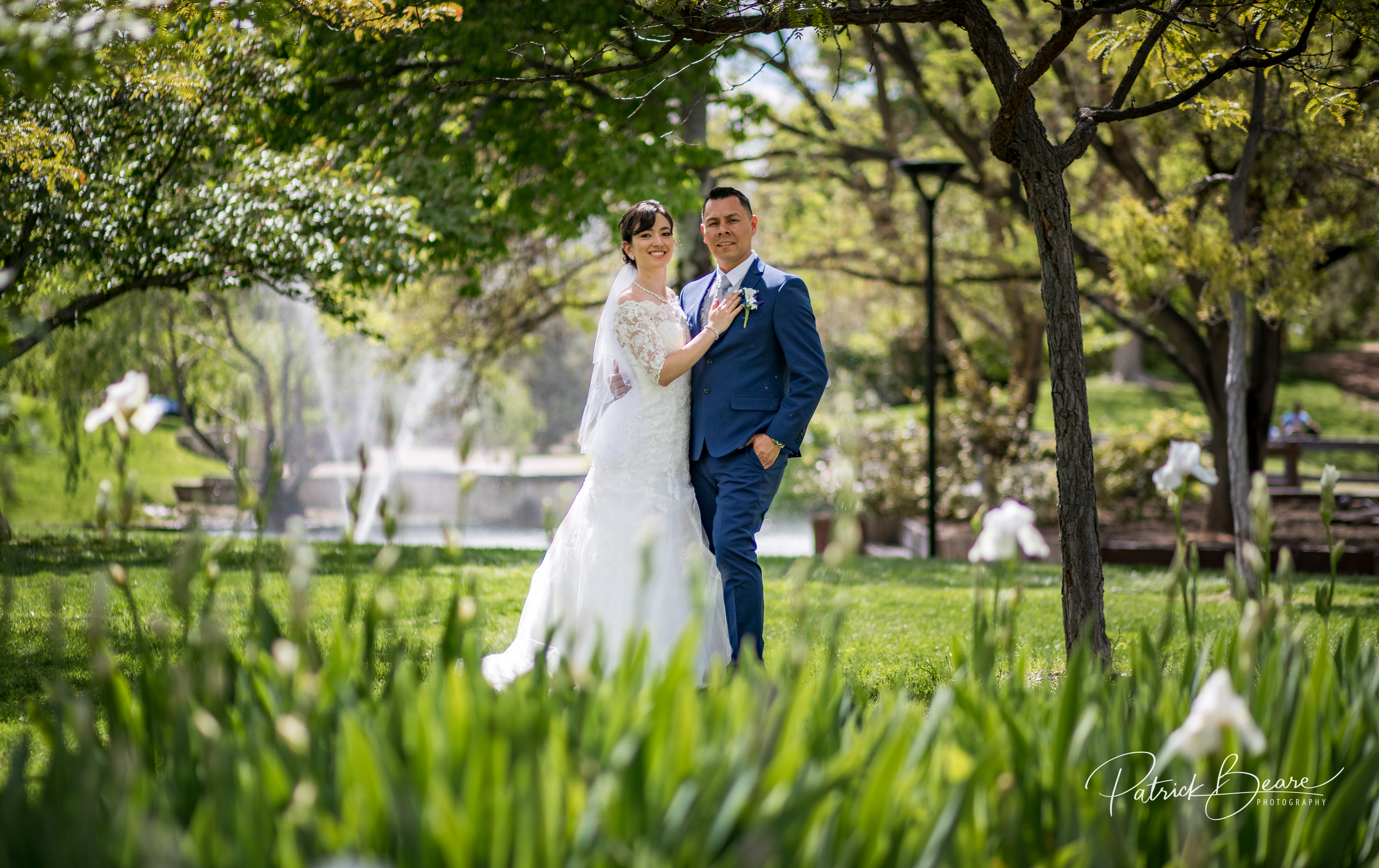 UNM Duck Pond Wedding Albuquerque