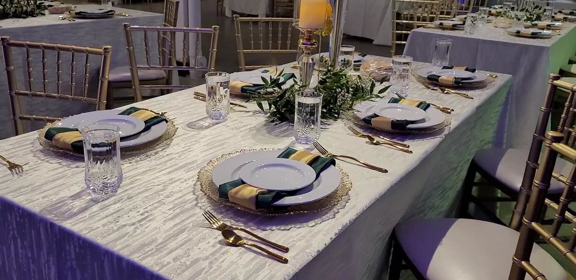 Engagement Dinner setup