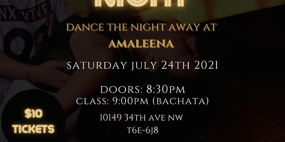 Amaleena X Maxwell Latin Night