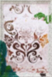 2014. Técnica mixta sobre papel hahnemühle,  100x70 cm. (Fotografía del fondo cortesía de Loly Alcaide) (versión 1 de 4)