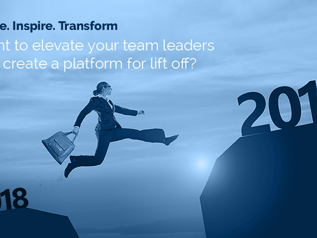 Want to Elevate your Team Leaders?