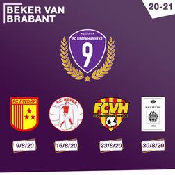Tegenstanders Beker van Brabant bekend!