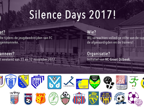 FC Negenmanneke neemt deel aan de 'Silence Days 2017'