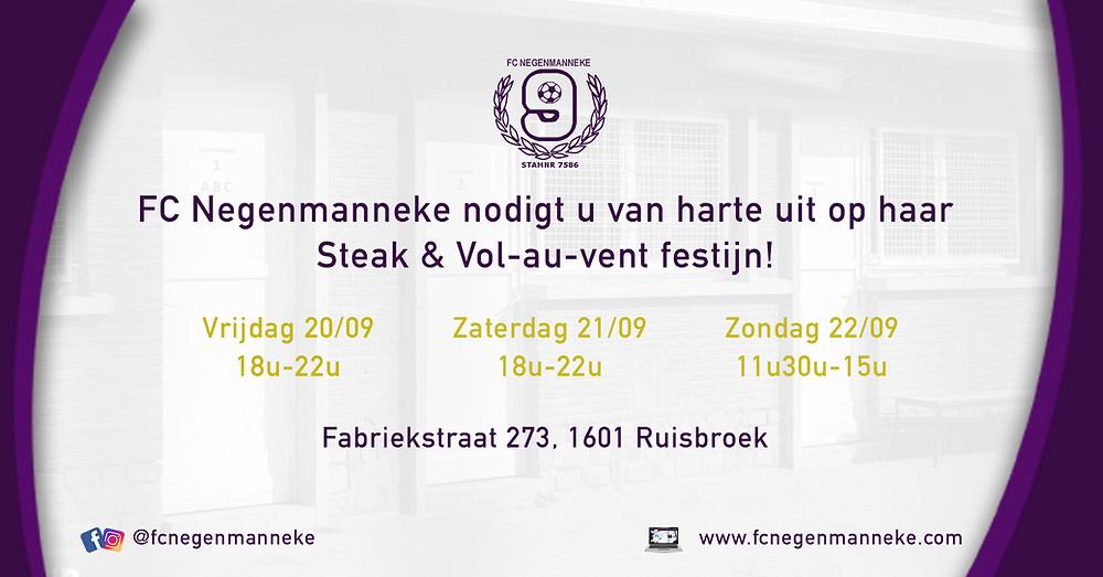 Eetfestijn FC Negenmanneke | September 2019