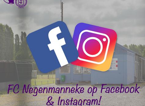 Volg ons op Facebook & Instagram!