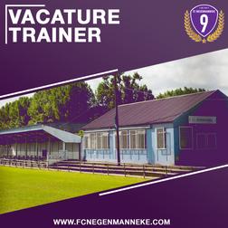 Vacature: Keepertrainer Eerste elftal