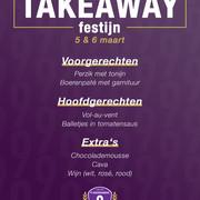 Takeaway festijn: Bestel hier!