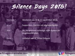 Silence Day 2018!