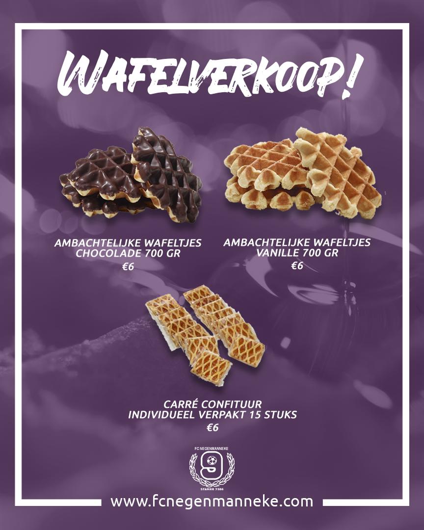 Wafelverkoop 2019 | FC Negenmanneke