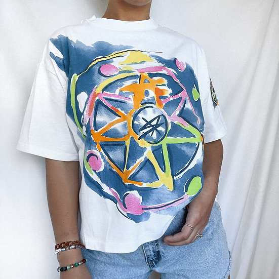 Jacque Moret 80s Abstract T-Shirt (OS)