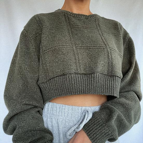 Forest Crop Sweater (S/M)