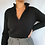 Thumbnail: Ribbed Crop Half Zip (S)